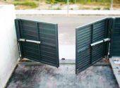 Puerta Batiente Residencial – Puertas Automáticas Merino