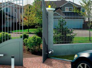 Puerta Batiente Residencial - Puertas Automáticas Merino