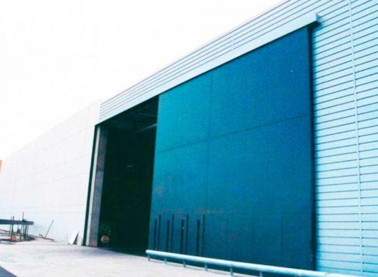 Puerta Corredera Industrial - Puertas Automáticas Merino