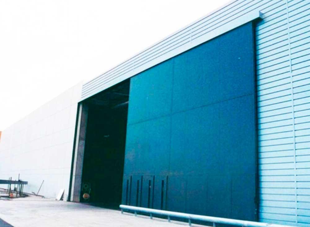 Puerta corredera industrial autom tica puertas - Puerta corredera industrial ...