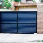 Puerta Corredera Residencial - Puertas Automáticas Merino