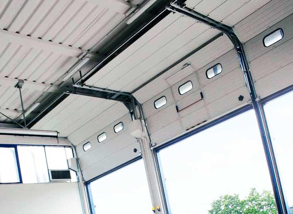 Automatismos y motores puertas seccionales industriales - Motor para puerta seccional ...