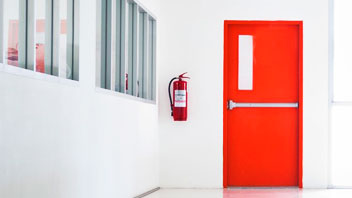 Puerta Cortafuegos industrial - Puertas Automáticas Merino