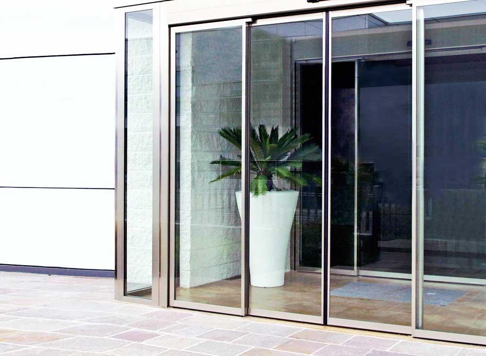 Puertas de cristal correderas comerciales puertas - Cristal para puerta ...
