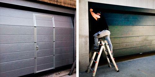 Puertas de Garaje Automáticas Seccionales (Residenciales) - Puertas Merino