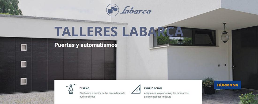 Alianza entre Puertas Merino y Talleres Labarca - puertas metálicas y automatismos